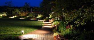 Подсветка, как инструмент ландшафтного дизайна