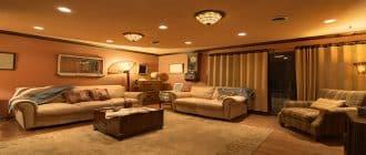 Правильное освещение в интерьере квартир